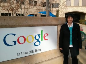 Karine Kugler at Googleplex