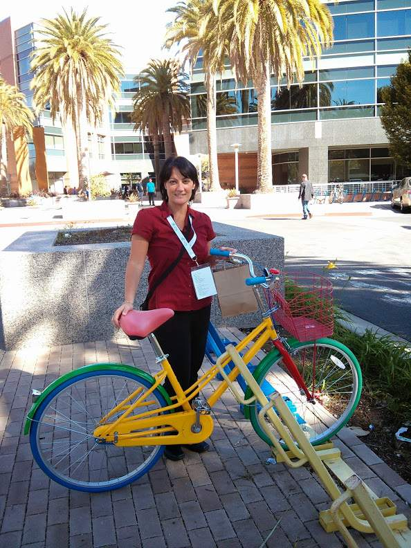 Karine Kugler at Googleplex