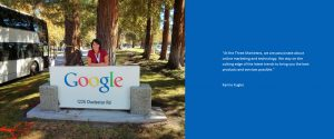 Karine Kugler at Google HQ