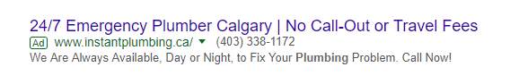 Google Ad Sample