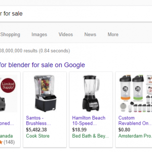 Shopping Ads in Google Search