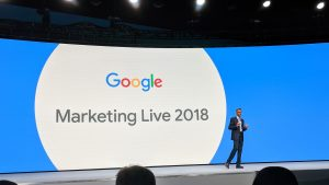 Google Marketing Live 2018